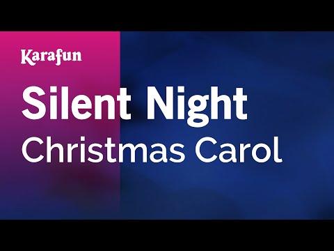 Karaoke Silent Night - Christmas Carol *