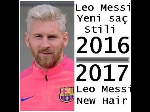 Pes 2017 Lionel Messi Yeni Saç Stili---Lionel Messi New Hair