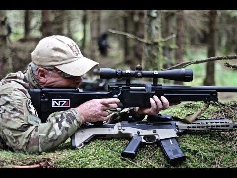 Airsoft War L96 FN 5-7 AK74 ASW-338LM