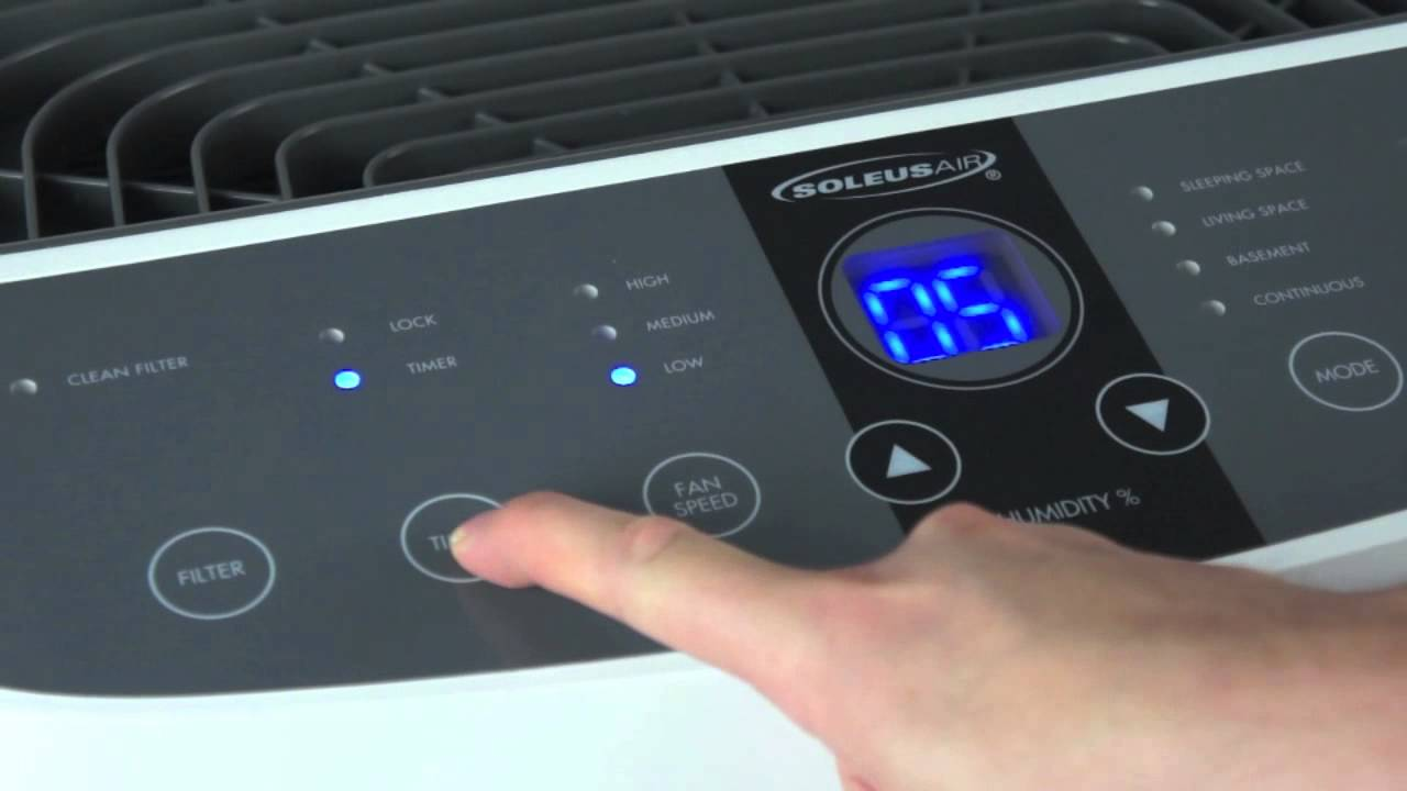 Instructional Video for Soleus Air Dehumidifiers - 90/95/115 Pint