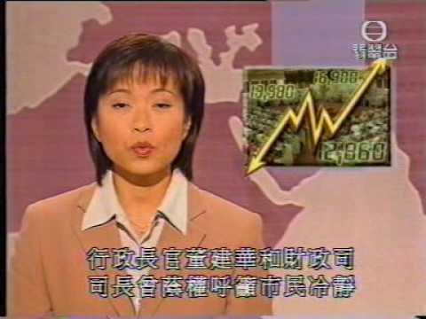 香港中古新聞: 亞洲金融風暴之'十月股災' 1997.10.28 - YouTube