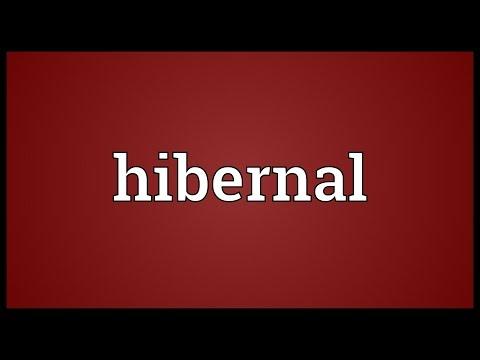 Header of hibernal