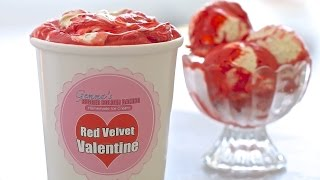 Red Velvet Homemade Ice Cream (no Machine) & Thank You!