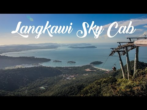 World's Steepest Cable Car - Langkawi Sky Cab - In 1080p