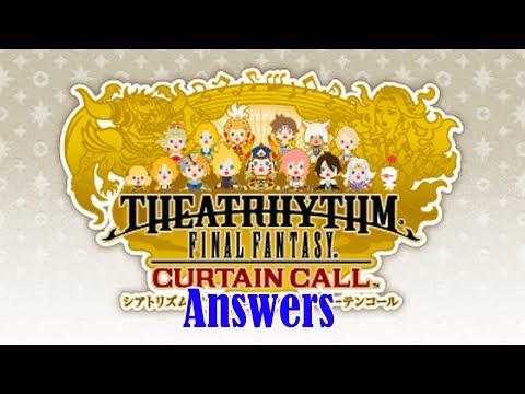 Theatrhythm: Curtain Call ; FFXIV Answers [EMS] (Ultimate Difficulty)