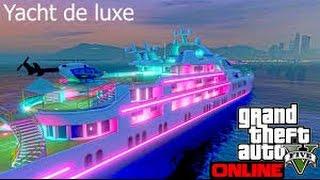 acheter le yacht le plus cher GTA5 (ps4)