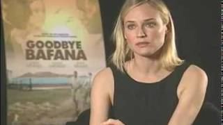 "Diane Kruger interview on her movie ""Goodbye Bafana"""