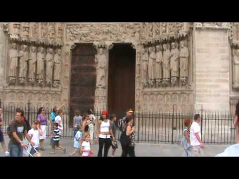 France, 2009 - Notre Dame Catherdral & GYPSIES!