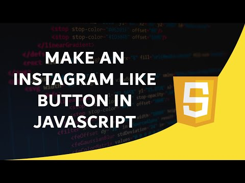Make An Instagram Like Button In JavaScript
