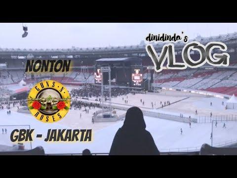VLOG #18 - GUNS N ROSES SAMA MAMAH [INDONESIA] | Dinidinda