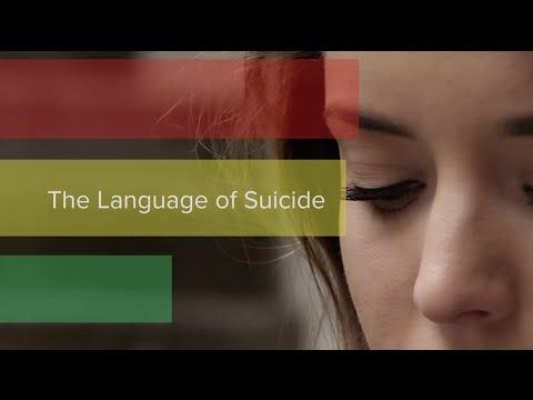 The Language of Suicide | Cincinnati Children's