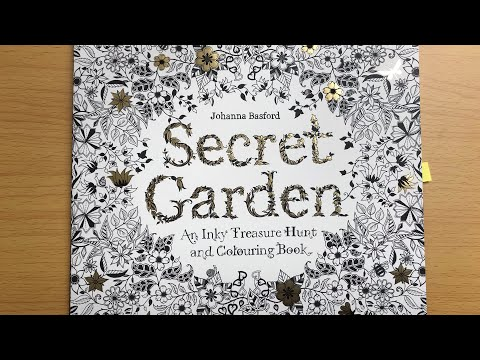 - Secret Garden Johanna Nasford Coloring Book (completed) - YouTube