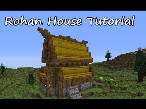 Minecraft House Tutorial Rohan House Youtube