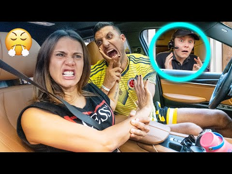 ARGUING In The DRIVE THRU'S To See People's REACTIONS!!! | The Royalty Family