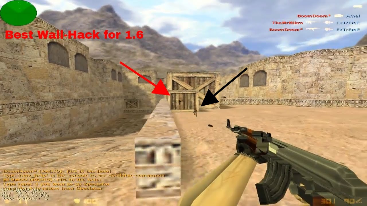 counter strike 1.6 wall hack software free download