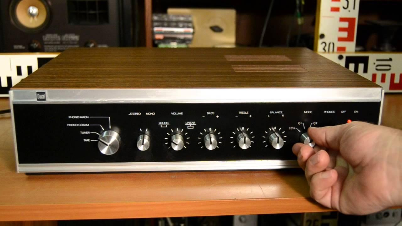 dual cv 31 amplifier - verst u00e4rker - zesilova u010d