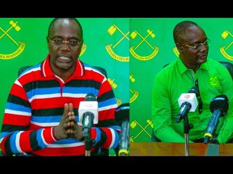 Jinsi Dkt Mashinji Alivyovua Gwanda Ndani Ya Ofisi Za CCM Na Kujiunga Na Chama Hicho