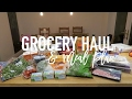 Grocery Haul and Meal Plan - 27th Feb 2017
