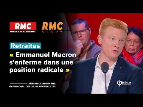 #Retraites : Emmanuel Macron s'enferme dans une position radicale | Adrien Quatennens