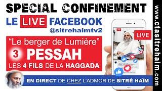 SPÉCIAL CONFINEMENT : PESSAH, LES 4 FILS DE LA HAGGADA  (3)  - Le Berger de Lumière