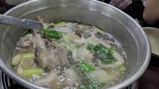 닭한마리(Korean chicken soup)