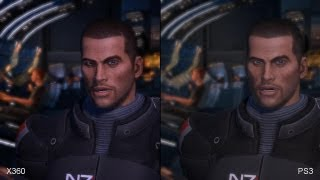 Mass Effect (Original) PS3 vs. Xbox 360 Comparison Video
