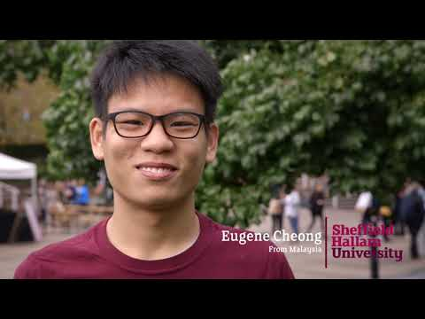 Sheffield Hallam University international online open day - student life