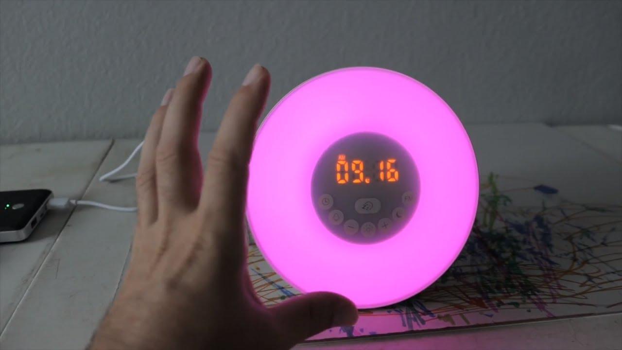Sunrise & Sunet Simulation Alarm Clock - Setup Review