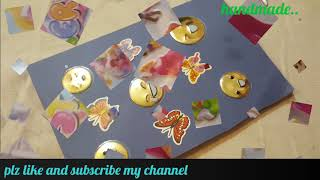Handmade jokes books for your child/ mjo/easy trick with cute princess stickers