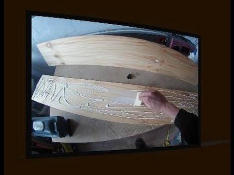 longboard selber bauen aus kiefernholz in bildern. Black Bedroom Furniture Sets. Home Design Ideas