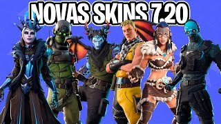 NEW SKINS, ARMS WRAPS, GLIDERS ET LEAKED PICKS UPDATE 7.20! -Fortnite, le