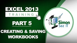 Excel 2013 for Beginners Part 5: How to Create a New Workbook