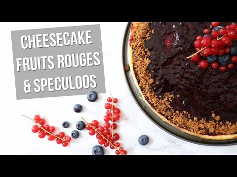 recette-|-cheesecake-fruits-rouges-&-spéculoos