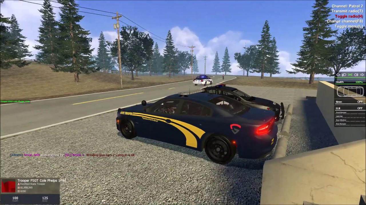 GamingLight PoliceRP State Trooper Patrol (EP 1)