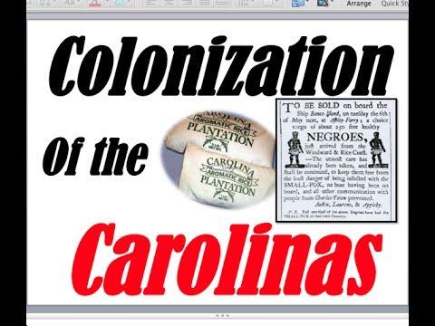 Carolina Colonization APUSH American Pageant Ch 2-4