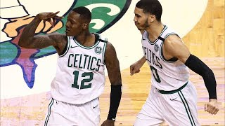 Middleton Forces OT From Near Half Court! Bucks vs Celtics 2018 NBA Playoffs