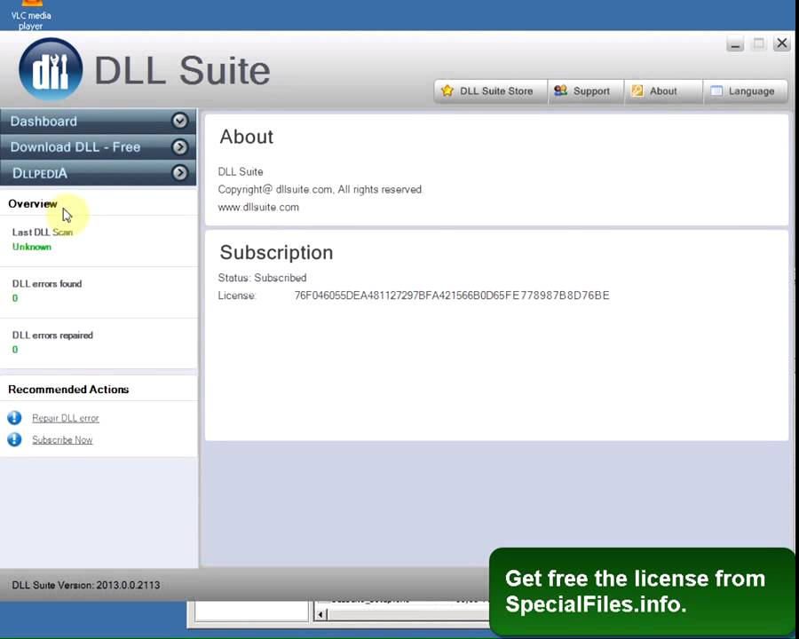 dll suite crack key codes