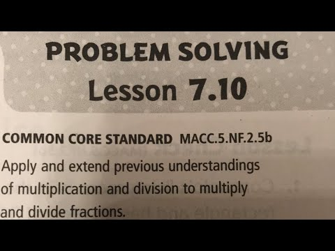 problem solving lesson 7.10 find unknown lengths