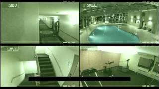 Мистика видео  Призрак в гостинице заснят на камеру