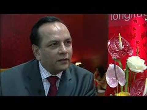 Subhash Thaker, Vice President - Sales & Marketing, Taj Hotels, Resorts and Palaces @ ITB Berlin 200