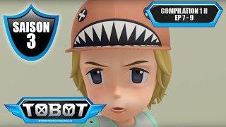 TOBOT ⏱⏱ Compilation 1h de dessin animé (épisodes 7, 8 et 9, saison 3)