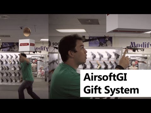 Airsoft GI - Redeem Tokens for FREE GIFTS with The AirsoftGI Gift Systems - Mario Parody