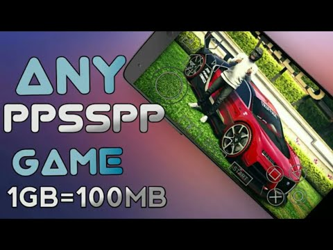 0mb Download Any Ppsspp Game In Highly Compressed