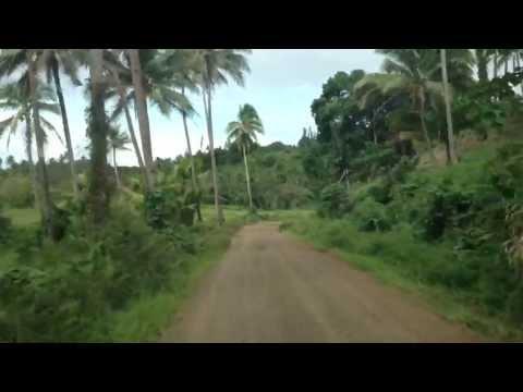 Driving to Wainunu (Fiji)
