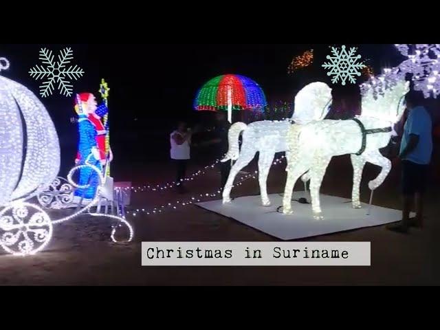 KERST IN DE TROPEN 🎄 PARAMARIBO 2018 #Christmas #Suriname