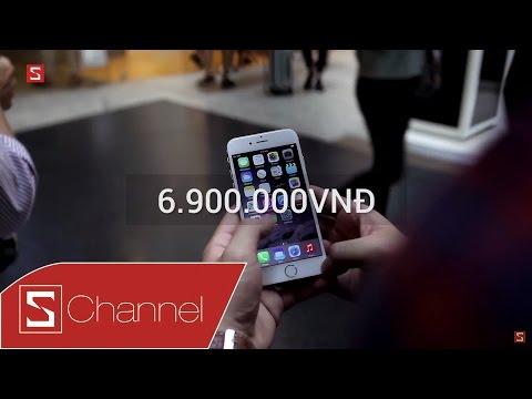 Schannel - iPhone 6 giá đã cực rẻ, chỉ từ 6.9 triệu tại CellphoneS