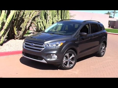 2017 ford escape ecoboost performance fuel economy youtube. Black Bedroom Furniture Sets. Home Design Ideas