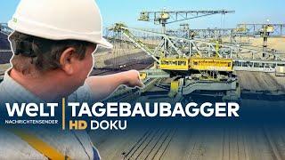 Tagebaubagger - Die größte bewegliche Maschine der Welt   HD Doku