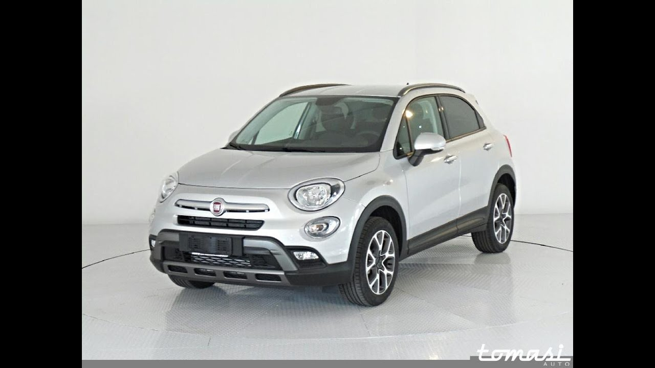 fiat 500x 1 6 multijet 120 cv cross argento km0 youtube. Black Bedroom Furniture Sets. Home Design Ideas