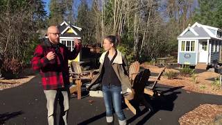 Doing The Tiny House House Thing At Mt. Hood Tiny House Village.
